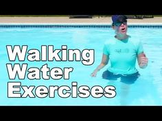 Water Exercise, Advanced Walking (Aquatic Therapy) - Ask Doctor Jo - YouTube