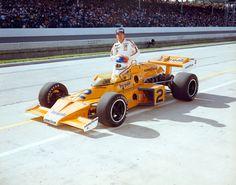 1976 Johnny RutherfordHy-Gain   (Bruce McLaren)McLaren / Offy