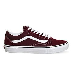 e11b183656c VANS Old Skool suede and canvas sneakers.  vans  shoes   Vans Old Skool
