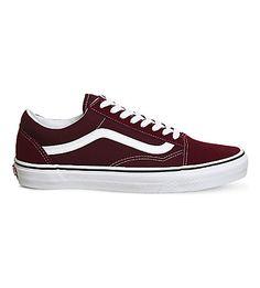 VANS Old Skool suede and canvas sneakers.  vans  shoes   Vans Old Skool a5044017f