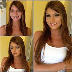 Le Pornostar Prima E Dopo Il Trucco Makeup