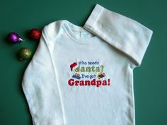 Baby Infant Newborn Holiday Long Sleeve Embroidered by SewFlurry