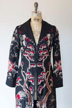 Art Deco Poiret Style Copy By Sue Wong Flapper Coat by soiree