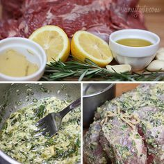 Roasted boneless leg of lamb seasoned with rosemary, lemon juice, Dijon mustard and garlic is a succulent Easter delight that truly celebrates Spring. With Easter coming soon, I am re-posting this easy, crowd-pleasing dish from the archives because I LOV Lamb Recipes, Meat Recipes, Paleo Recipes, Food Processor Recipes, Cooking Recipes, Recipies, Leg Of Lamb Marinade, Love Food, A Food