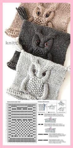 Diy Crafts - Child Knitting Patterns knit cap in solely 45 rounds --- owl motif Baby Knitting Patterns Supply : Mütze stricken in nur 45 Runden- Owl Knitting Pattern, Knitting Stitches, Knitting Patterns Free, Free Knitting, Crochet Patterns, Kids Knitting, Diy Crafts Knitting, Knitting Projects, Crochet Projects