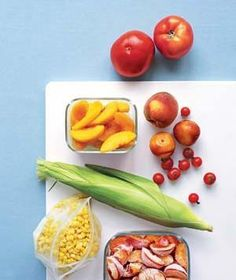 Recipes for Frozen Summer Produce   Twenty-two recipes that bring back the taste of summer.