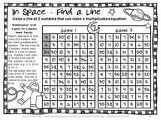 Multiplication Games NO PREP Longest Line by Games 4 Learning This collection of multiplication games contains 26 Multiplication Games that review a variety of multiplication skills up to 12 x 12. $