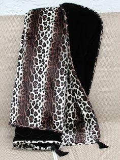 Leopard Throw Blanket, Leopard Animal Print, Black Velvet Blanket, Sofa Throw Blanket, Luxurious Safari Blanket, Velvet Soft Blanket