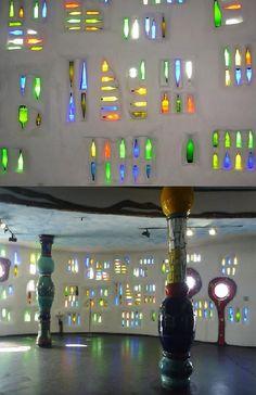 friedensreich hundertwasser  Hundertwasser building in Rorschach