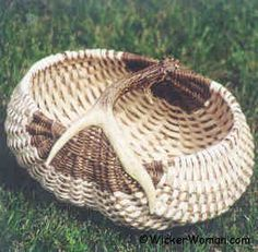 Ebony+and+Ivory+Antler+Basket