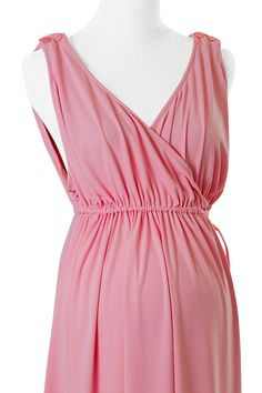 My Labor Gown Ballerina Pink by MyLaborGown on Etsy