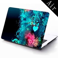 Colorful Heart Shape Design Full-Body Protective Plastic Case for 11-inch/13-inch New MacBook Air – USD $ 25.99