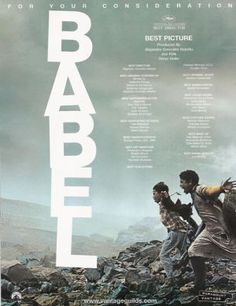 Babel (Alejandro González Iñárritu The Morroccan and Mexican stories are by far the most interesting! Movie To Watch List, Best Director, Scene Photo, Film Stills, Film Posters, Great Movies, Film Movie, Movies Showing, Posters
