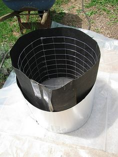 form for round planter | Flickr - Photo Sharing! flashing for mold