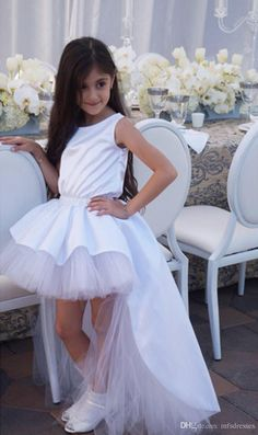 2017 Princess Girl Beauty Dresses Girls Puffy First Communion Dress Ball Gown Long Flower Girl Dresses High Low Dresses Flower Girl Dresses Long Sleeves Flower Girl Dresses Girls Communion Dresses Online with $81.15/Piece on Mfsdresses's Store | DHgate.com