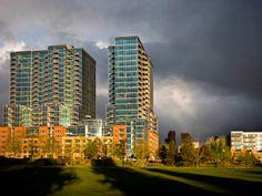 Glass House in Riverfront Park in Denver.