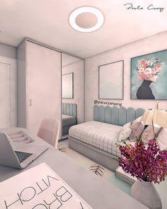 Cute Bedroom Ideas, Cute Room Decor, Teen Room Decor, Room Ideas Bedroom, Small Room Bedroom, Home Decor Bedroom, Bedroom Furniture, Furniture Ideas, Room Design Bedroom