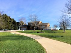 **697 N 500 E, Valparaiso** There is no shortage of living space in this 3900+ sq ft home on 2.1 acres.   Natural light gives way to a large living room upon entering. A Formal dining room is just off the spacious kitchen.  The solid surface countertops and sink makes for easy clean up.  Again, there is more than enough cabinet space to contain all of your culinary items.  Continue through the kitchen to the den with a cozy fireplace, built in book shelves and french doors.