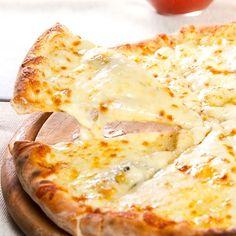 Pizza aux quatre fromages au Thermomix®