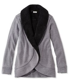 Cozy Fleece Open Cardigan | Mag Finds | Pinterest | Open cardigan ...