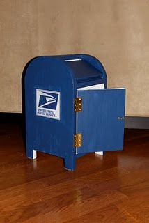 diy mail box pretend