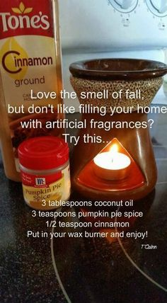 Love the smell of fall?