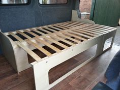 pull out bed campervan - Google Search