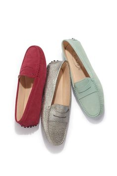Pick up these cool hued Tod's loafers for your Mom this year! #GiveSaks