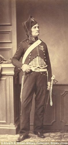 Monsieur Schmit of the 2nd Mounted Chasseur Regiment...