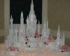 Fairy Tale Disney Cinderella Castle Wedding Cake