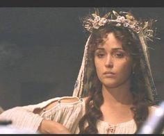 """Rosa Byrne as Briseis in """"Troy (2004)""""."""