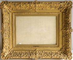 Ornate Gilt Hand Carved Frame