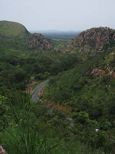 Some of the landscape in Benin.