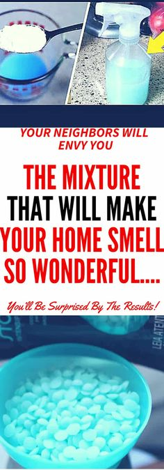 THE MIXTURE THAT WILL MAKE YOUR HOME SMELL SO WONDERFUL… YOUR NEIGHBORS WILL ENVY YOU #home #smell #wonderful #mixture #diy #bakingsoda #softener #water #essential