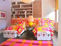 This room insists that you wake up happy!