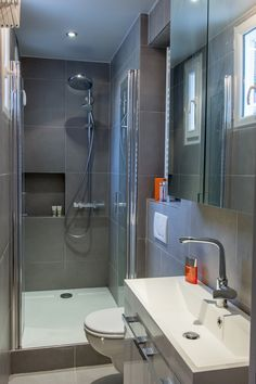 1000 ideas about petite salle d eau on pinterest shower - Idee petite salle de bain ...