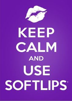 Keep Calm and Use Softlips. #softlips #lipbalm #keepcalm