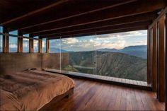 room with a view - desert bunker idea stolen!