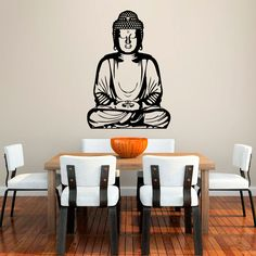 Diseño de Buda: un vinilo que transmite paz y serenidad.