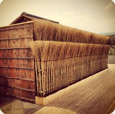 """Tea Ceremony House"", Collaboration Installation of Hiroshi Sugimoto & Sumitomo Wood at House Vision 2013 Tokyo   ©Sigit Kusumawijaya"