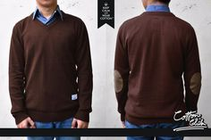 SLOOPY v-neck #men #knit #sweater