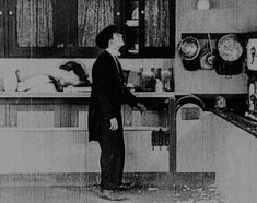 (12) buster keaton | Tumblr - The Electric House