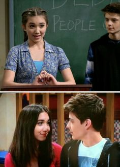 The way they look at each other x Riley Riley And Farkle, Farkle Minkus, Girl Meets World Cast, Corey Fogelmanis, Riley Matthews, Disney Channel Shows, Rowan Blanchard, World Pictures, Heart Eyes