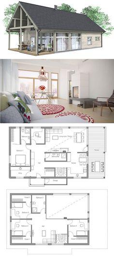 Open Concept House Designs H E A on