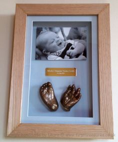 3d cast and photo in frame www.firsttreasures.co.uk