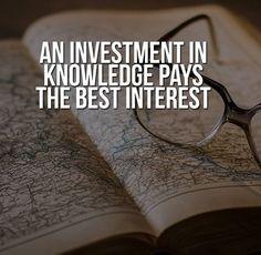 An investment in knowledge pays the best interest #secretmindset #billionaire #motivation