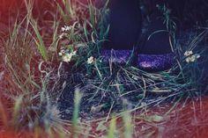 DIY sparkle glitter shoes for my wedding! facebook.com/artfulparadox (photo: elainag.com)