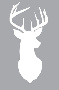 Freebie: Deer Silhouette turn in to Rudolph with a red dot