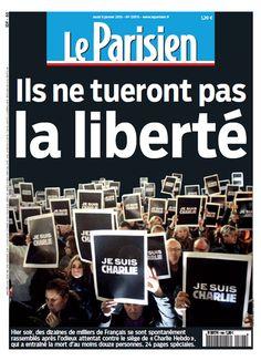 Le Parisien #Je suis Charlie