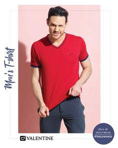 Be the man everyone wishes to be. Flaunt your style with trendy Essential T-shirts collection from Valentine. Shop now at https://www.valentineclothes.com/men/sports-separates.html #tshirts #MensFashion #Fashionista #Valentine #ValentineClothes #MadewithLove #FollowyourHeart #LeisureWear #HappyShopping